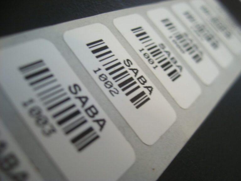 impressão de etiquetas tedsys